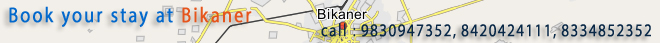 Book your stay at Bikaner